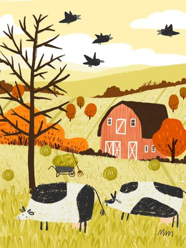 autumn illustration automne