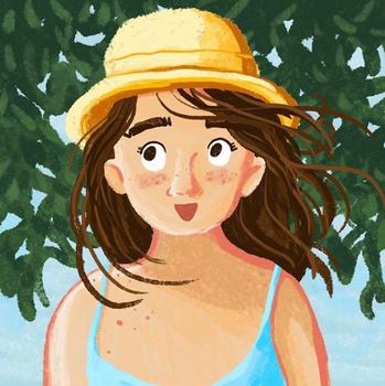 Girl illustration fille