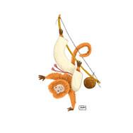 Monkey capoeira