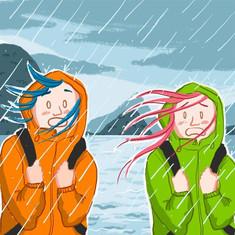 girls illustration filles