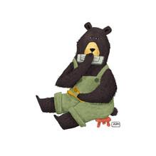 Bear singing