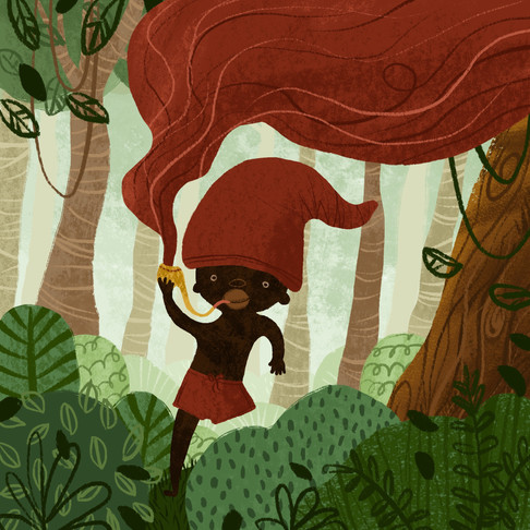 saci illustration folktale