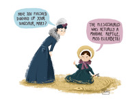 Mary Anning and Elizabeth Philpot