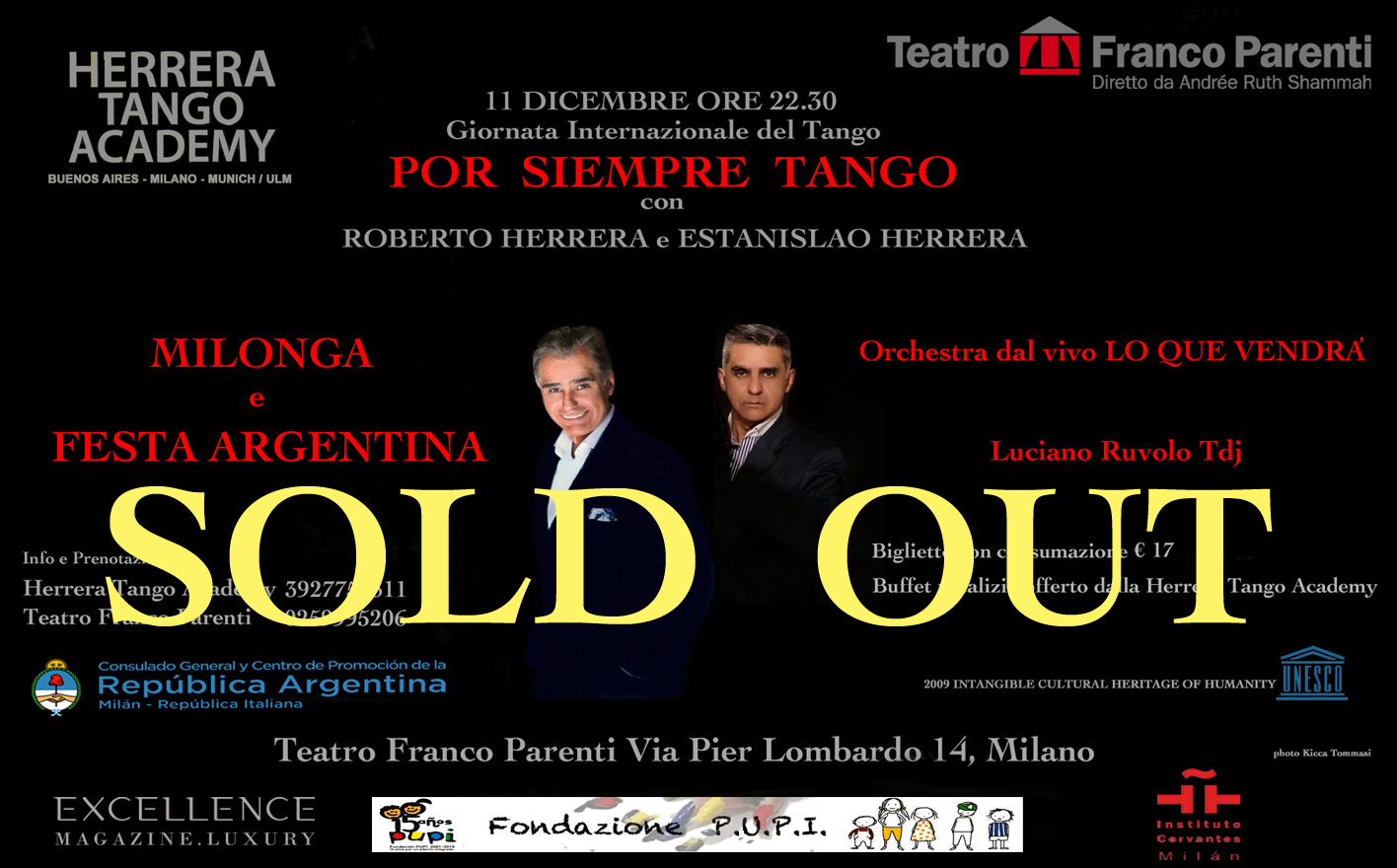 SOLD OUT 11 dicembre Herrera-Parenti def