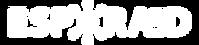 Logo Espora3D blanco