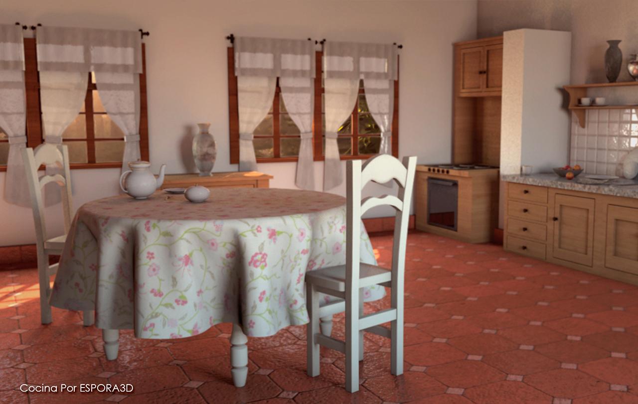 ESPORA3D - Cocina