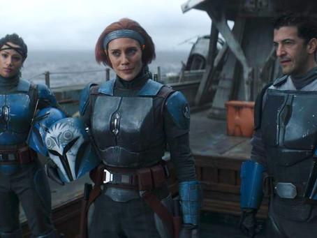 Mand-galore! Din Djarin teams up with fellow Mandalorians!