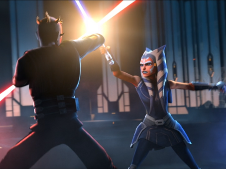 Review- The Clone Wars, The Phantom Apprentice