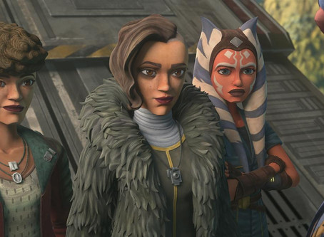 "Review- The Clone Wars ""Ahsoka, Trace, and Rafa"" Arc"