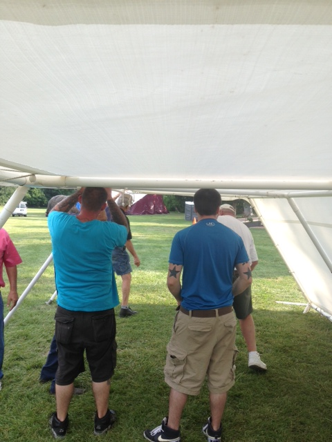 Tents Up 6