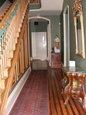 main floor entry way
