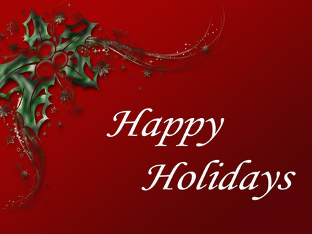 Holiday Clinic Hours