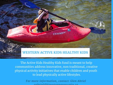 Active Kids, Healthy Kids Grant
