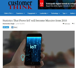 iot become massive in 2018