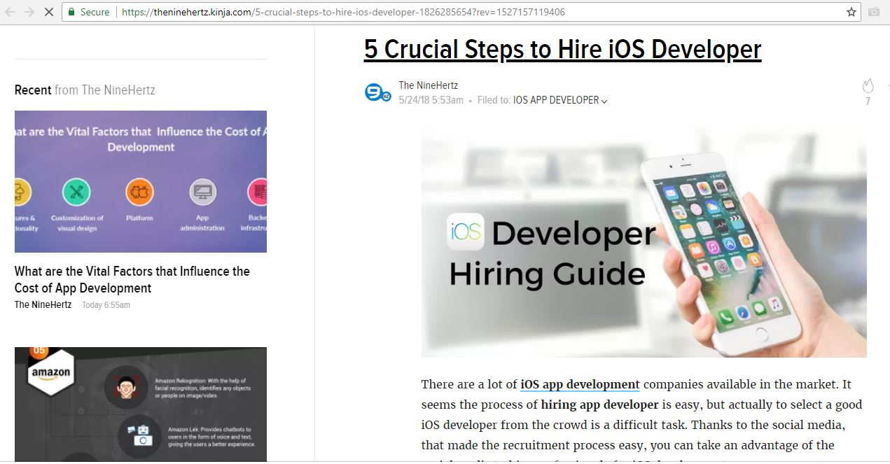 5 crucial steps to hire ios dev