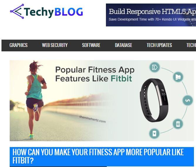 fitness app popular