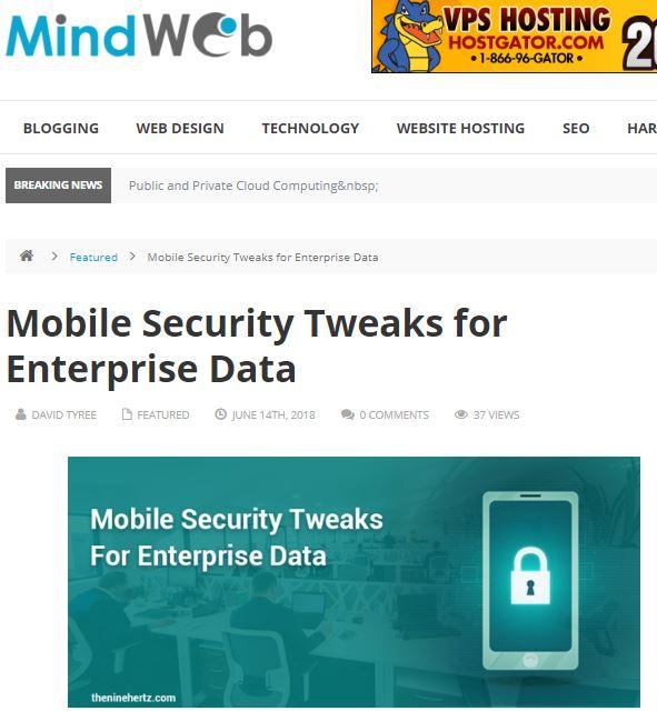 security tweak
