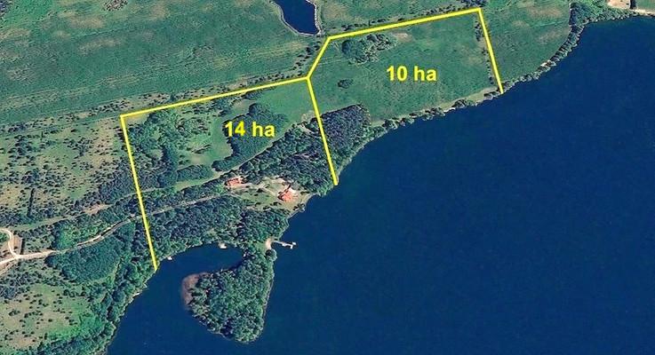 posiadłość nad jeziorem nieruchomość na sprzedaż
