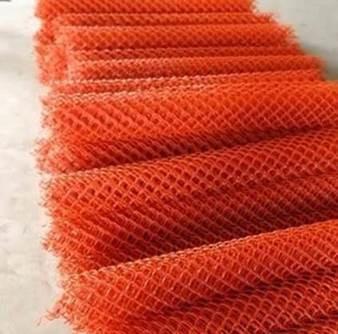 Red Color PVC coated steel wire mesh Dammam Saudi Arabia