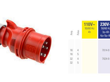 SHARK Phase Inverter Plug IP44 | Brand PCE | Dammam, Saudi Arabia