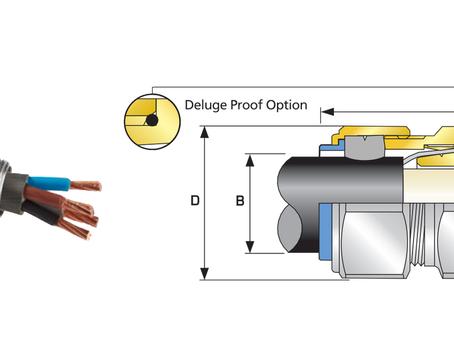 CMP Cable Gland | E1W Double Seal Industrial Cable Gland | Brand CMP | Dammam | Saudi Arabia