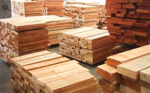 Softwood for Concrete support