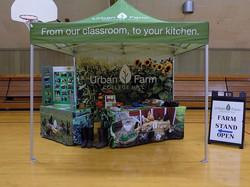 Urban Farm farm stand