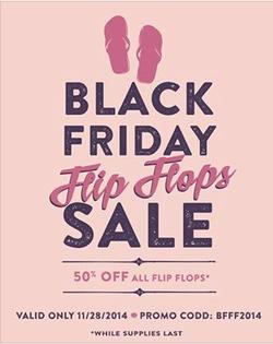 flip flop sale flyer