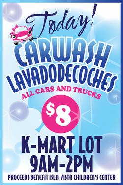 IVYP carwash poster!