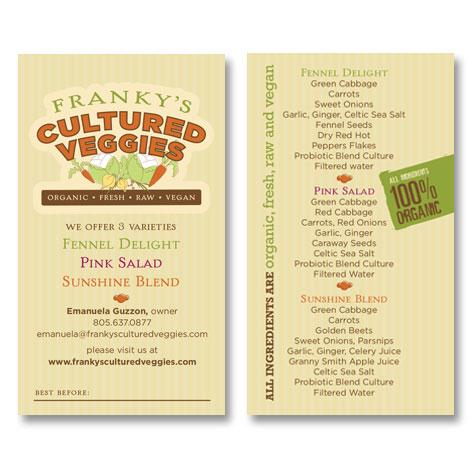 Franky's Cultured Veggies