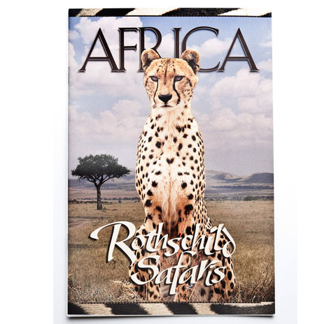 Rothschild's safaris brochure cover