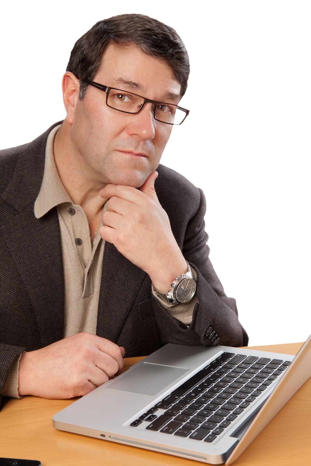 Male Modeling Reading Glasses