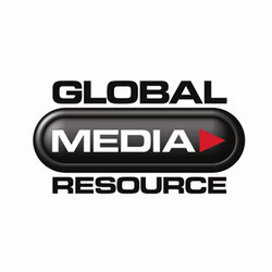 Global Media Resource logo design