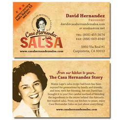 Casa Hernandez Business Card