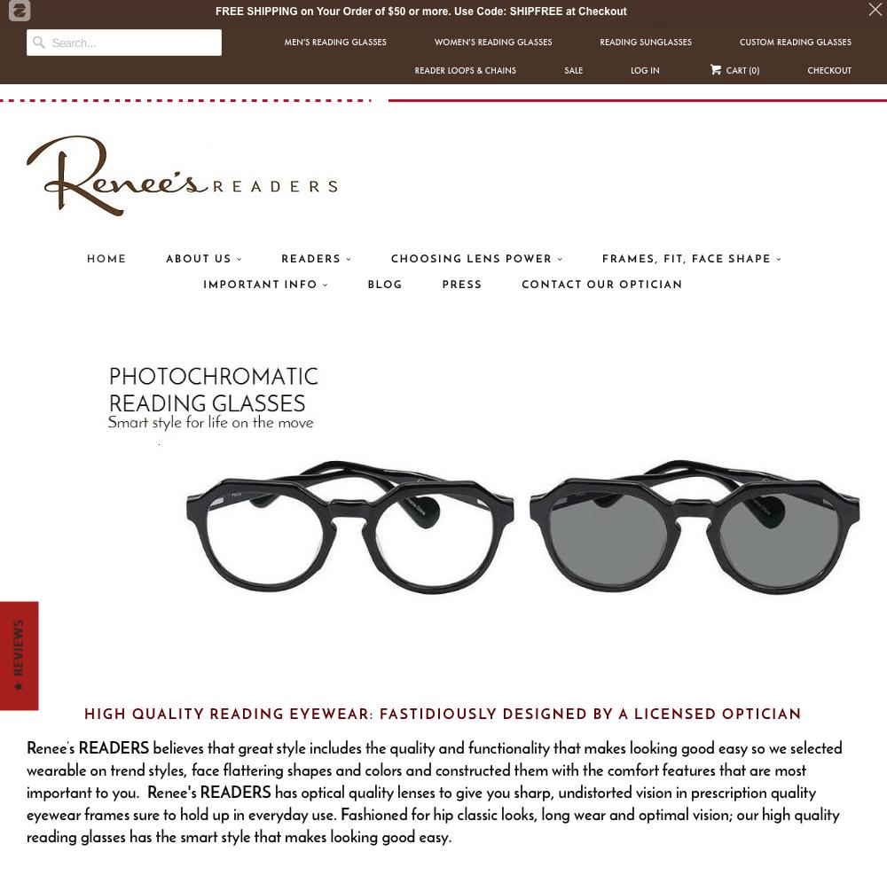 Renee's readers commerce site