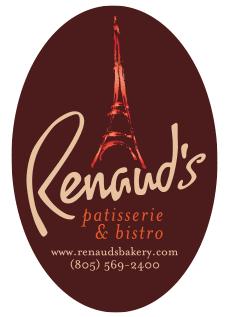 Renaud's  logo design