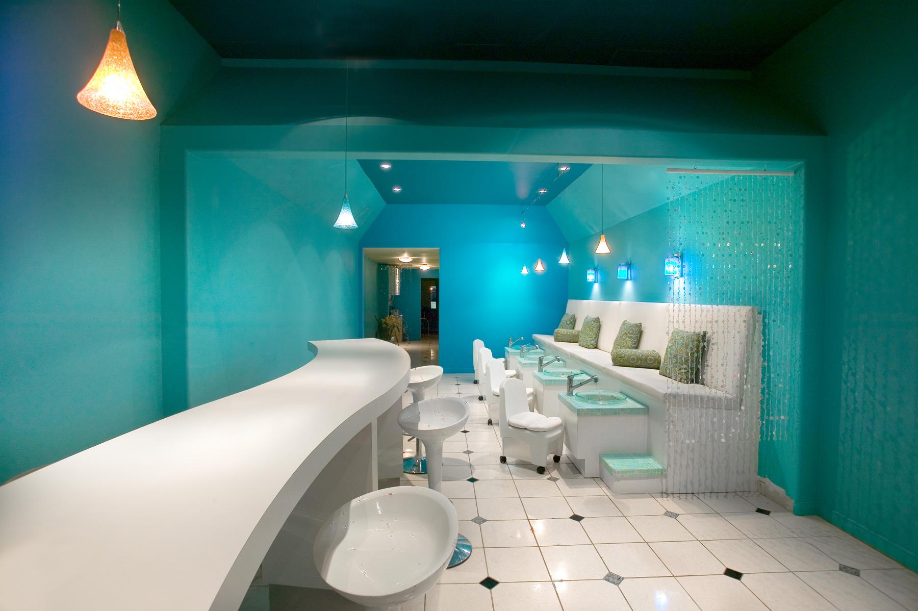 Santa Barbara Graphic Designer | Aqua Nail Bar | Santa Barbara