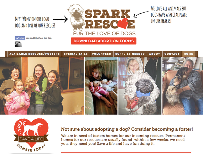 Spark Rescue–Giving Back