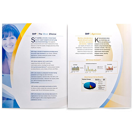 SHP software brochure inside