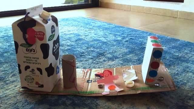 עבודת גרוטאות של שחר: מפעל לחלב