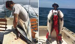 Deep Sea Fishing Stripers