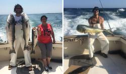 Stripers & Mahi Mahi Tuna Fishing