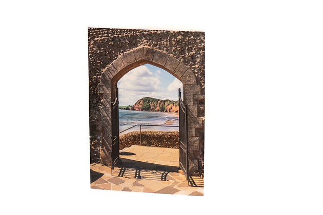 Connaght Gardens Archway A6 Card