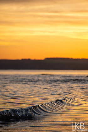 Sunset Curls - Sidmouth Portrait