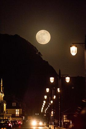 A Super Moon - Sidmouth