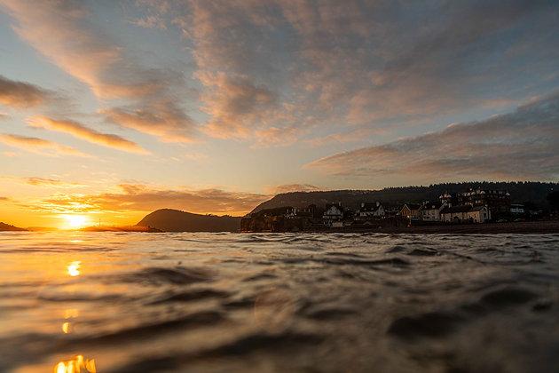 Sunset Mood - Sidmouth, Devon