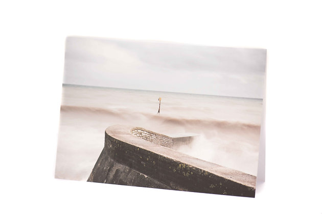 Silky Waters, Sidmouth A6 Card