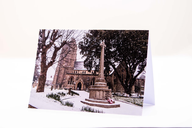 Sidmouth Parish Church A6 Card