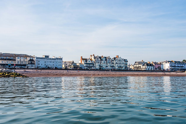 Sidmouth From Sea