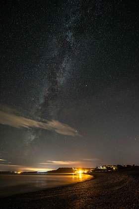 Milky Way over Budleigh Salterton, Devon